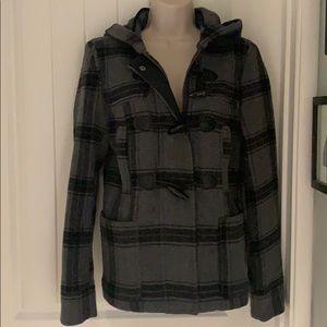 Gorgeous NWT wool blend Aeropostale hooded coat!